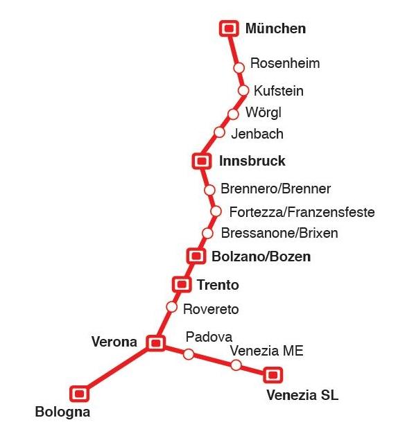 Deutsche und Österreichische Bahnen | Gardasee