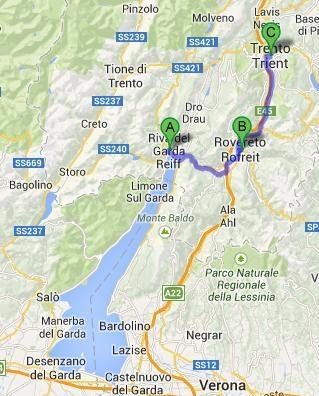 Riva - Rovereto - Trento