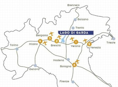 Getting To Lake Garda By Plane Visitgarda