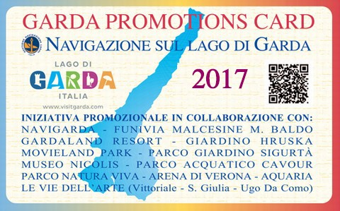 Garda Promotion Card | Lake Garda